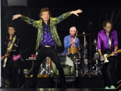 The Rolling Stones in Pasadena (AP)