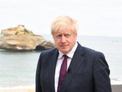 Boris Johnson (Andrew Parsons/PA)