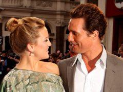 Matthew McConaughey and Kate Hudson (Ian West/PA)