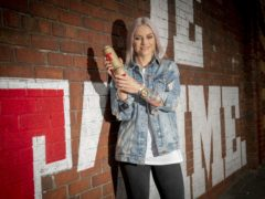 Singer Amy Macdonald has been awarded a Tennent's Golden Can (Paul Chappells/PA)