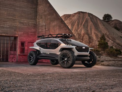 The AI:Trial concept vehicle (Audi/PA)