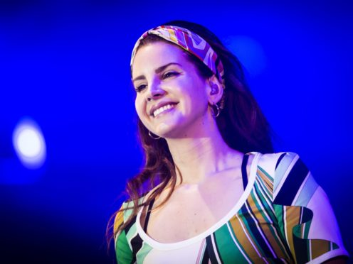 Lana Del Rey has gone straight to the top with her new release (Danny Lawson/PA)