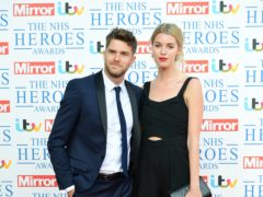 Joel Dommett and Hannah Cooper (Ian West/PA)