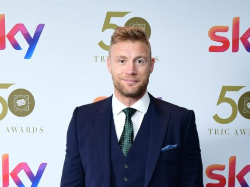 Top Gear host Andrew Flintoff said he is 'absolutely fine' after being involved in an incident while filming Top Gear (Ian West/PA)