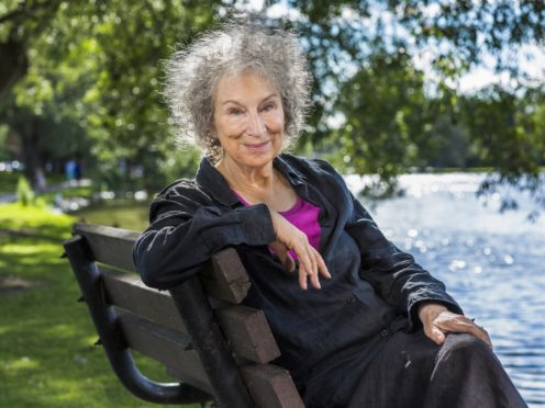 Margaret Atwood's not-yet-published novel The Testaments has been shortlisted for the 2019 Booker Prize (Booker Prizes/PA)