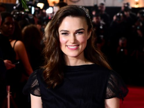 Keira Knightley attending the world premiere of The Aftermath, held at the Picturehouse Central Cinema, London