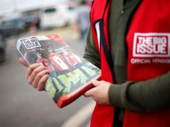The Big Issue is partnering with Bonnier Books to publish the book (Paul Harding/PA)