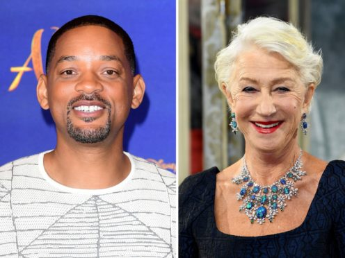 Will Smith and Dame Helen Mirren (PA)
