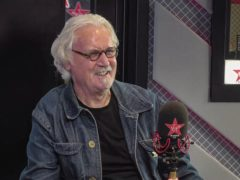 Billy Connolly on Chris Evans Virgin Radio Breakfast Show with Sky (Virgin Radio/PA)