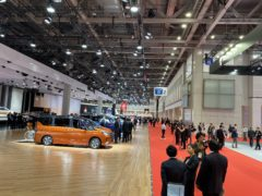The Tokyo Motor Show (Martyn Landi/PA)