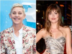 Ellen Degeners and Dakota Johnson