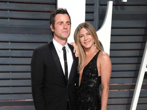 Justin Theroux and Jennifer Aniston (PA)