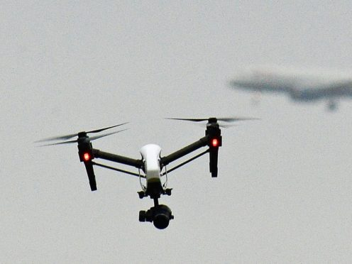 The Civil Aviation Authority's (CAA) online system comes amid growing concern around the use of drones near airports (John Stillwell/PA)