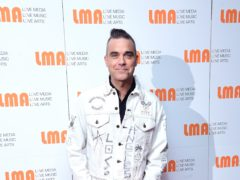 Robbie Williams (Ian West/PA)