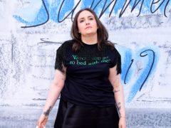 Lena Dunham said she initially resisted using the cane (Ian West/PA)