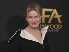 Renee Zellweger was among the stars at the Hollywood Film Awards (Richard Shotwell/Invision/AP)