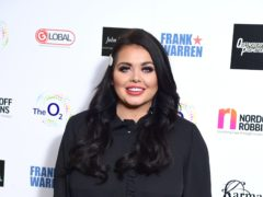 Scarlett Moffatt has been dropped from her presenting role on Saturday Night Takeaway (Ian West/PA)