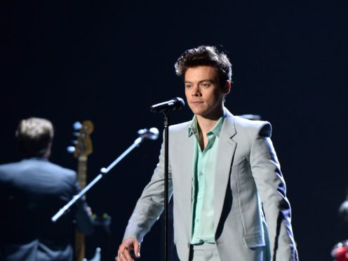 Harry Styles says he is more relaxed about sexuality than he used to be (Aurore Marechal/PA)