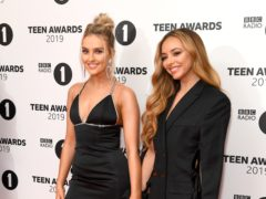 Perrie Edwards and Jade Thirlwall of Little Mix attending the BBC Radio 1 Teen Awards 2019 (Scott Garfitt/PA)