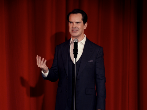 Jimmy Carr in the National Lottery ad (Jimmy Carr)