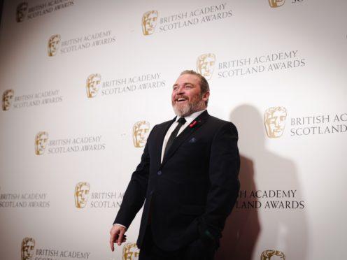 Chernobyl actor Alex Ferns at the Scottish Baftas (Bafta Scotland/PA)