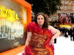 Lena Dunham said she struggles with dating in the UK since going sober (Isabel Infantes/PA)
