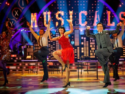 Anton Du Beke and Emma Barton to repeat top-scoring routine in Strictly final (Guy Levy/BBC)