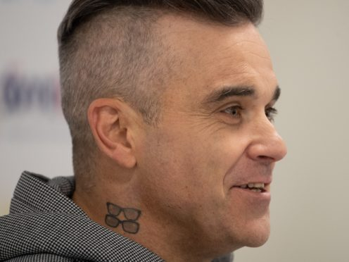 Robbie Williams (Joe Giddens/PA)