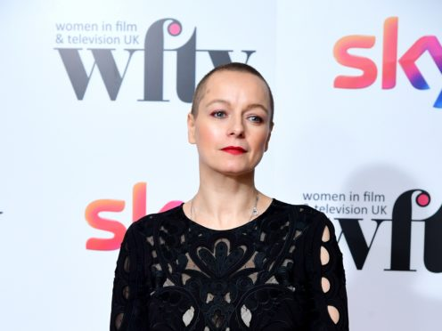 Samantha Morton at the Women in Film & TV Awards (Ian West/PA)