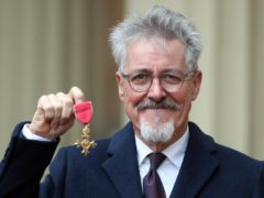 Griff Rhys Jones was made an Officer of the Order of the British Empire (Andrew Matthews/PA)