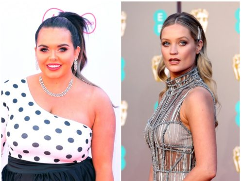 Scarlett Moffatt and Laura Whitmore have shared what their ideal Christmas day looks like (PA)
