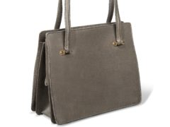 The Asprey handbag owned by Baroness Thatcher (Museum of Bags Amsterdam/PA)