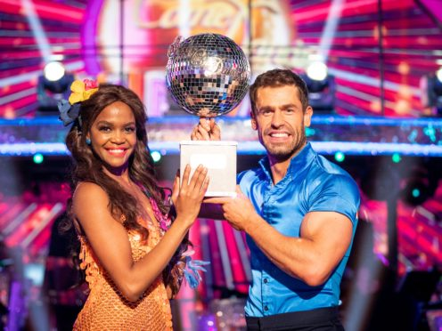 Kelvin Fletcher and Oti Mabuse win Strictly Come Dancing (Guy Levy/BBC)