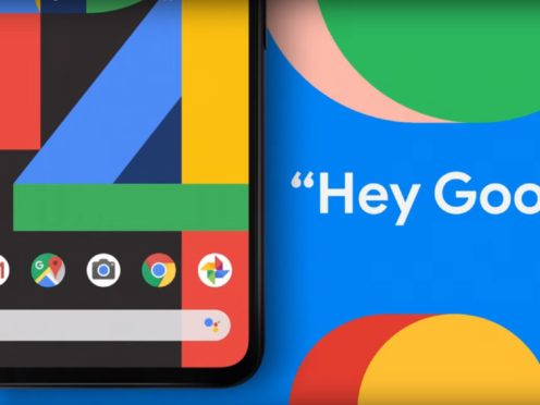 The update is only available to Pixel 4 users, Google's flagship smartphone which launched in the autumn (Google/PA)