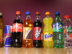 The amount of sugar in soft drinks has been drastically reduced since the introduction of a sin tax in April 2018, researchers have found (Philip Toscano/PA)