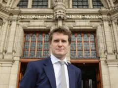 """V&A director Tristram Hunt has praised Iran's """"incredible"""" history of art and design (Yui Mok/PA)"""