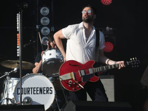 Liam Fray from the Courteeners (Andrew Milligan/PA)