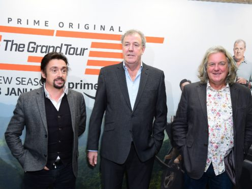 Richard Hammond now presents The Grand Tour with fellow former Top Gear presenters James May and Jeremy Clarkson (Ian West/PA)