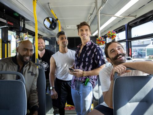 Queer Eye hosts Antoni Porowski, Karamo Brown, Jonathan Van Ness, Tan France and Bobby Berk (Christopher Smith/Netflix/PA)