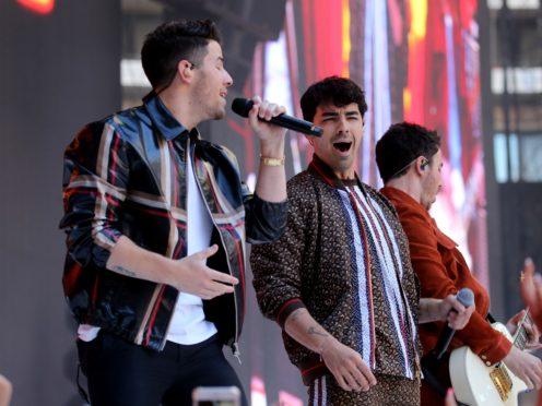 Jonas Brothers (Isabel Infantes/PA)