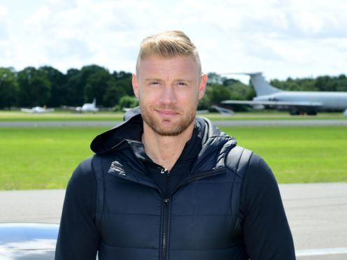 Andrew Flintoff developed an eating disorder after joining the England side (Ian West/PA)