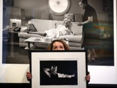 Photographs of David Bowie and Marilyn Monroe are among the auction items (Andrew Milligan/PA)