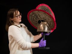 Amy Roberts, collections officer at the Novium Museum (Andrew Matthews/PA)
