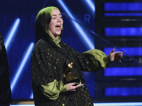 Billie Eilish enjoyed a stunning night of success at the 62nd Grammy Awards, sweeping the big four categories for five wins in total (Matt Sayles/Invision/AP)
