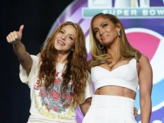 Jennifer Lopez and Shakira have promised to pay tribute to Kobe Bryant during their Super Bowl half-time show (AP Photo/David J. Phillip)