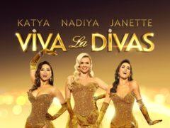 Janette Manrara, Katya Jones and Nadiya Bychkova star in Viva La Divas (Colin Thomas for The TCB Group/PA)