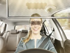 The Virtual Visor has been unveiled at the CES in Las Vegas (Bosch)