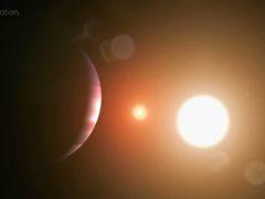 Artist illustration of the planet (NASA's Goddard Space Flight Center/Chris Smith)