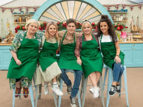 Contestants (from left) Siobhan, Saoirse, Dylan, Nicola and Jamie-Lee (Channel 4/PA)