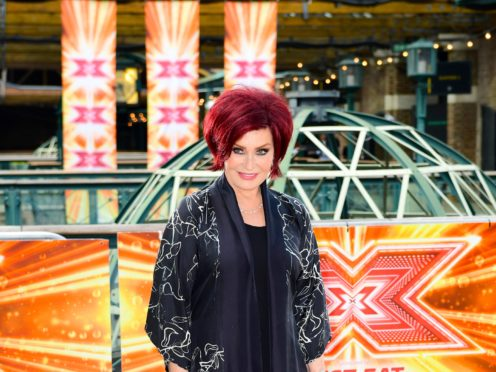 Sharon Osbourne has swapped her deep red hair colour and is embracing her natural hue (Ian West/PA)